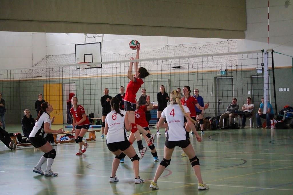 1. Damen: Der USV Potsdam ist Landesmeister!