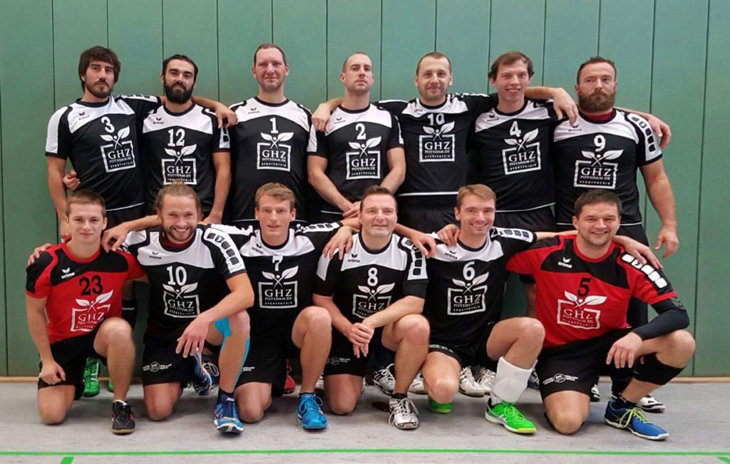 Die 2. Herrenmannschaft am 12. November 2016
