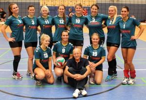Die 2. Damenmannschaft am 13.09.2014 in Kleinmachnow