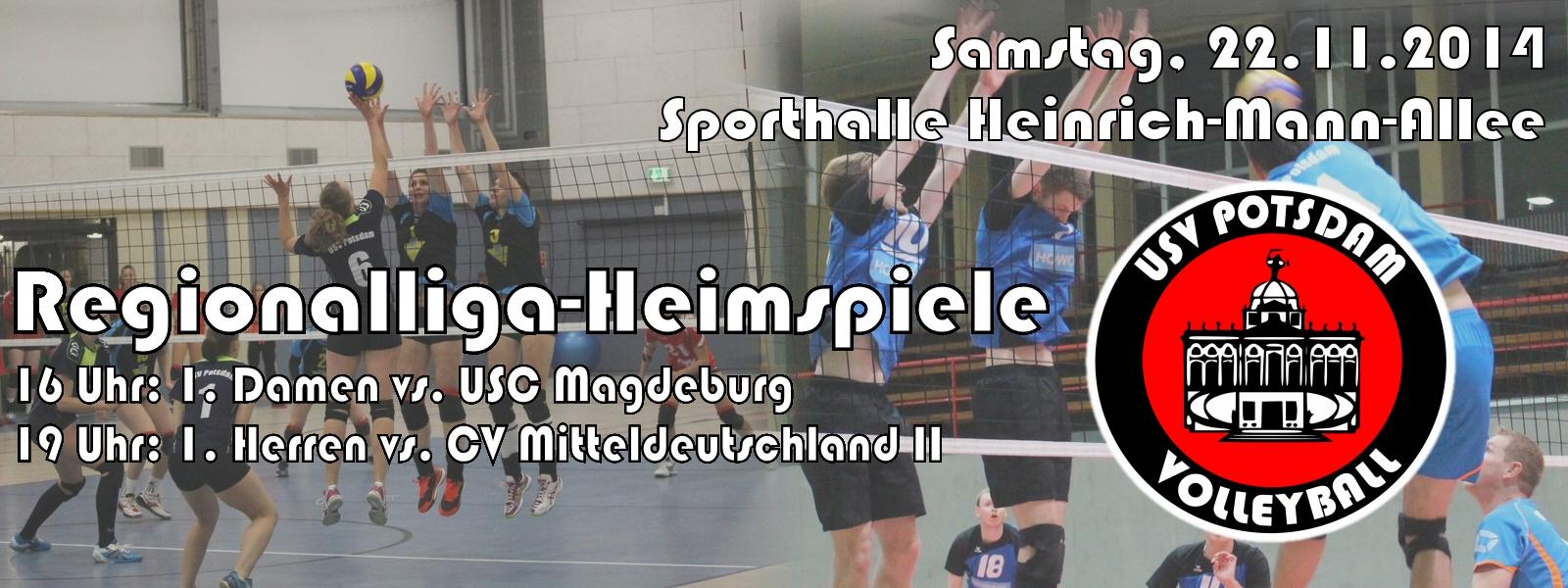 Am 22.11.2014 kommen Magdeburg und Mitteldeutland II in die Heinrich-Mann-Allee