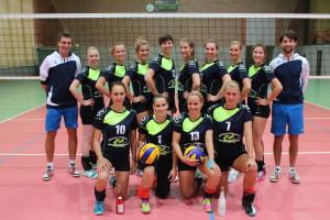 Die erste Damenmannschaft 2015/2016