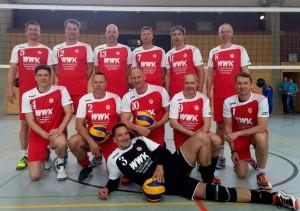 Andreas Jurisch (#5) und Jens Reimann (#13) im Team des SV Energie Cottbus